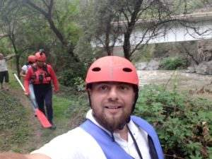 Rafting in Armenia Debet river