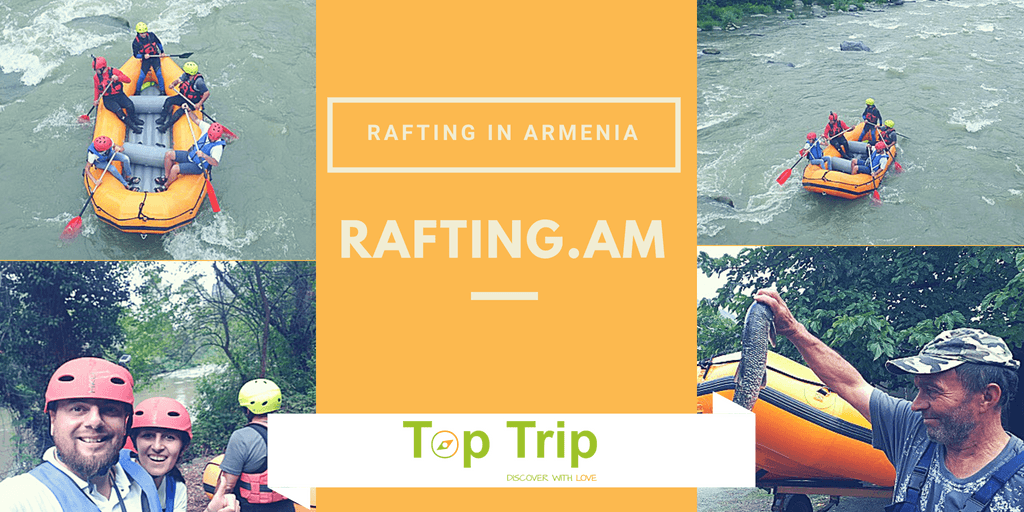 Rafting in Armenia – the Success of Conquering river Debed