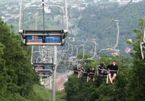 The cable car of Tsaghkadzor