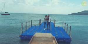with-family-sevan-lake