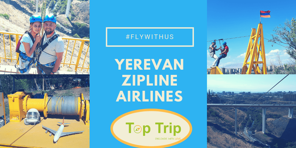 Yerevan Zipline Airlines – 60 Seconds of Excitement and Surprise