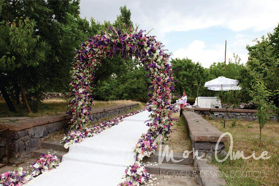 wedding decoration armenia
