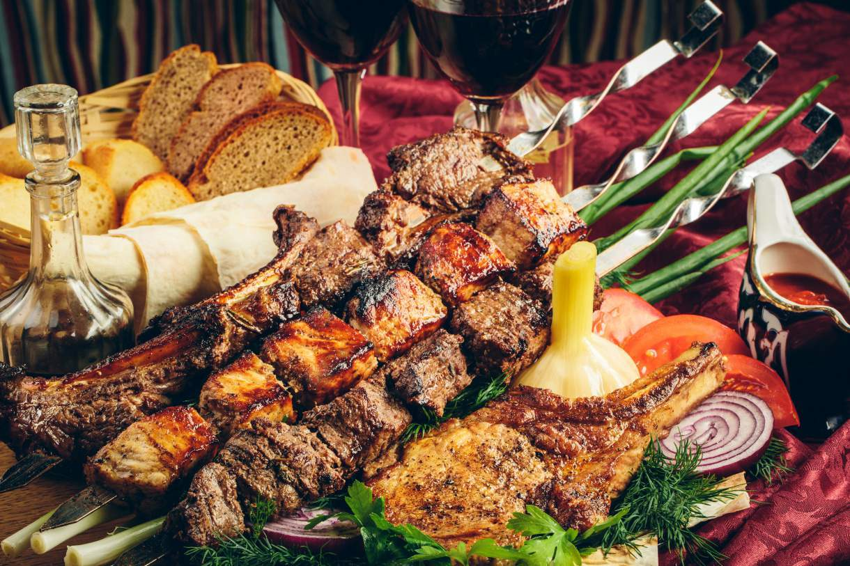 Armenian top dishes